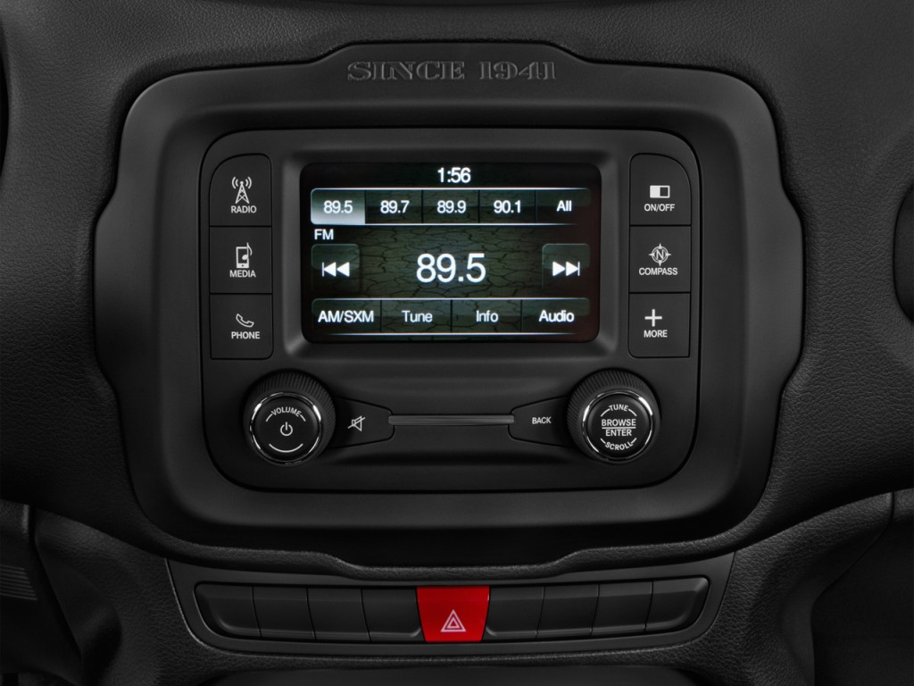 Used Toyota Tacoma Trucks For Sale >> Image: 2017 Jeep Renegade Latitude FWD Audio System, size ...