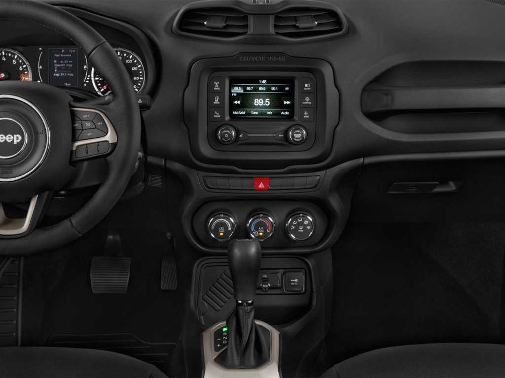 image 2017 jeep renegade latitude fwd instrument panel size 1024 x 768 type gif posted on. Black Bedroom Furniture Sets. Home Design Ideas