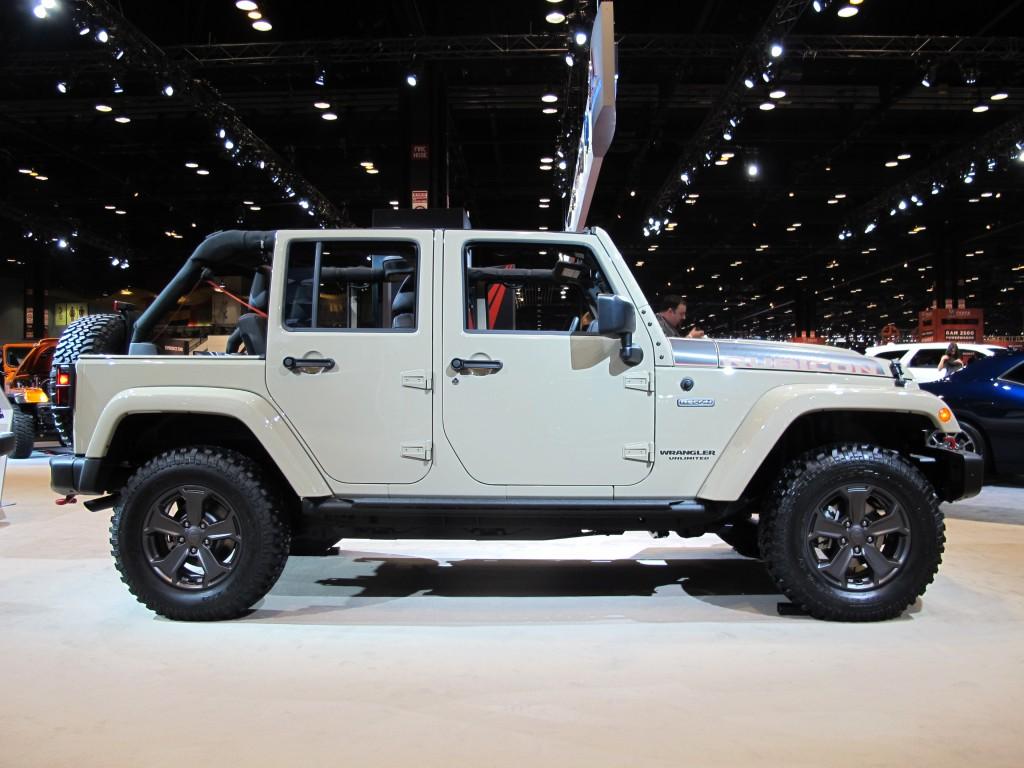 Image 2017 Jeep Wrangler Unlimited Rubicon Recon 2017