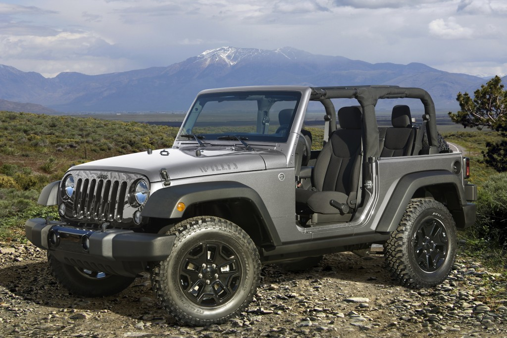 2016-2017 Jeep Wrangler recalled to fix airbag glitch on nearly 225,000 vehicles