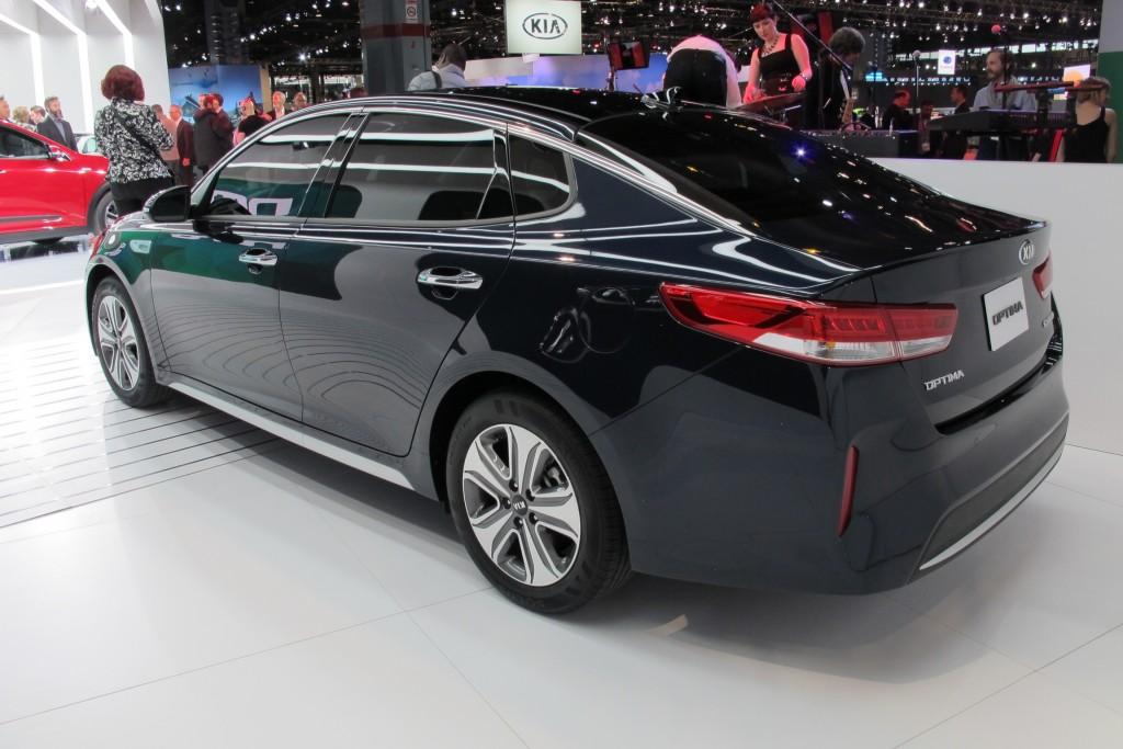Image 2017 Kia Optima Hybrid 2016 Chicago Auto Show