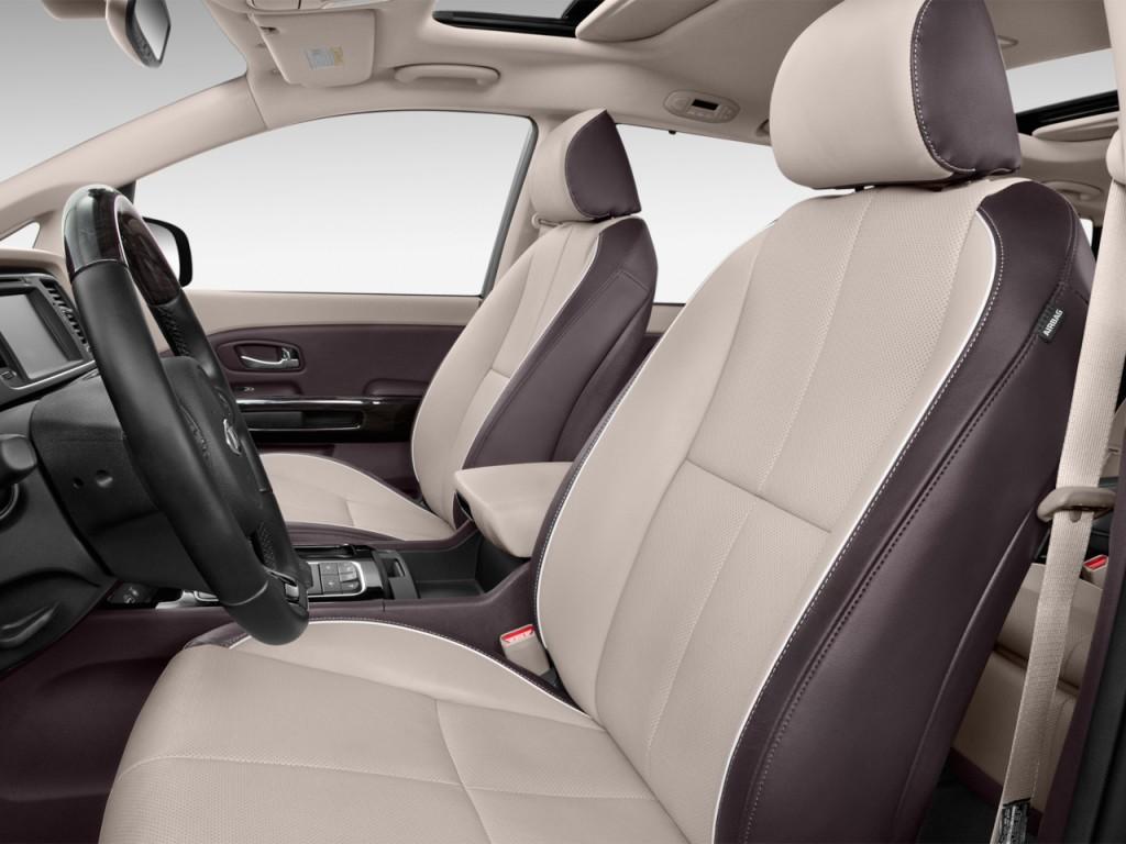 Image: 2017 Kia Sedona L FWD Front Seats, size: 1024 x 768 ...