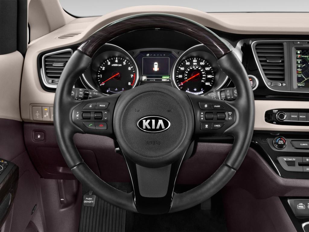 Image: 2017 Kia Sedona L FWD Steering Wheel, size: 1024 x ...