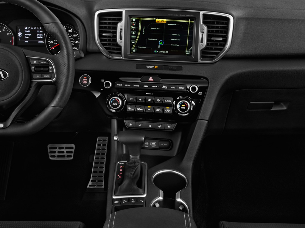 image 2017 kia sportage sx turbo awd instrument panel size 1024 x 768 type gif posted on. Black Bedroom Furniture Sets. Home Design Ideas