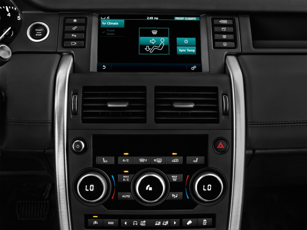 image 2017 land rover discovery sport hse luxury awd temperature controls size 1024 x 768. Black Bedroom Furniture Sets. Home Design Ideas