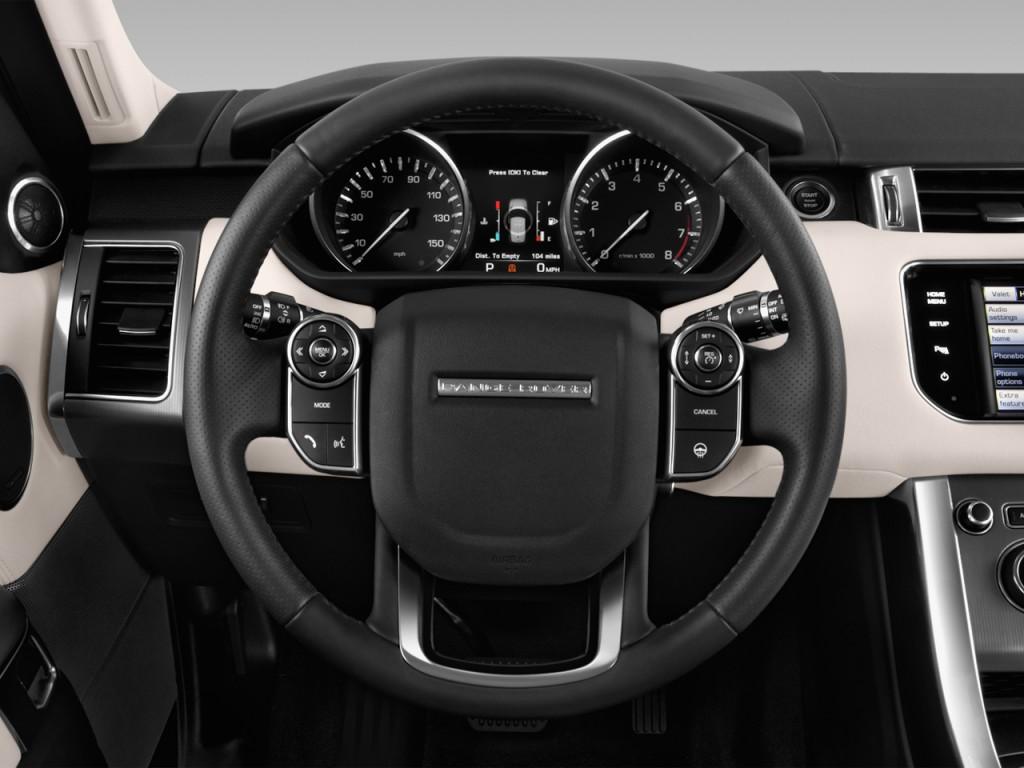 image 2017 land rover range rover sport v6 supercharged hse steering wheel size 1024 x 768. Black Bedroom Furniture Sets. Home Design Ideas