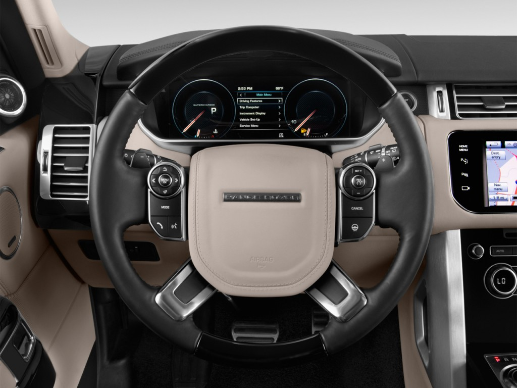 image 2017 land rover range rover v6 supercharged hse swb steering wheel size 1024 x 768. Black Bedroom Furniture Sets. Home Design Ideas