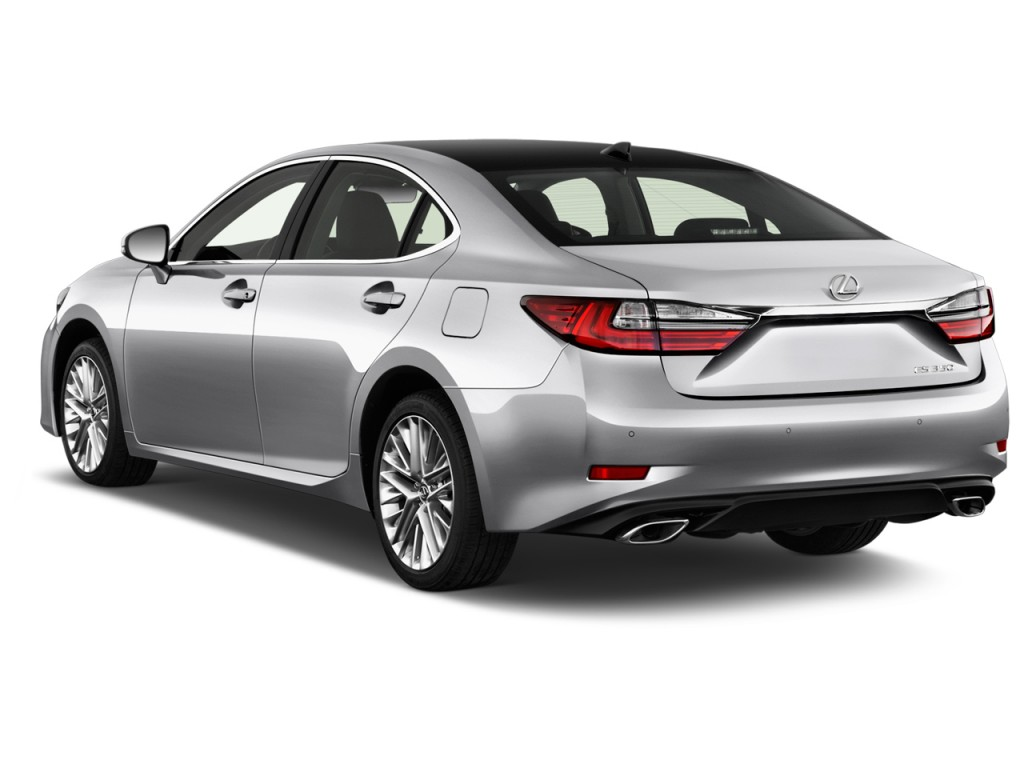 2016 Cadillac Crossover >> Image: 2017 Lexus ES ES 350 FWD Angular Rear Exterior View, size: 1024 x 768, type: gif, posted ...