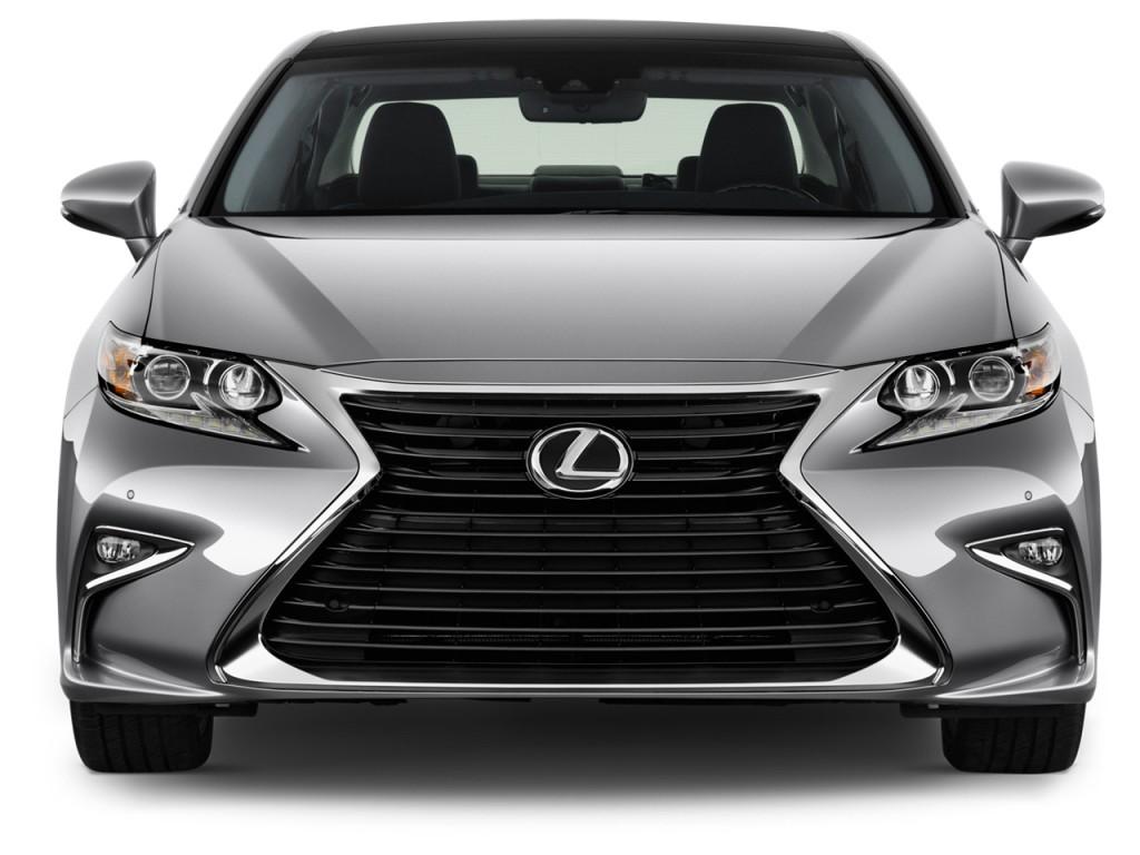 Image: 2017 Lexus ES ES 350 FWD Front Exterior View, size ...