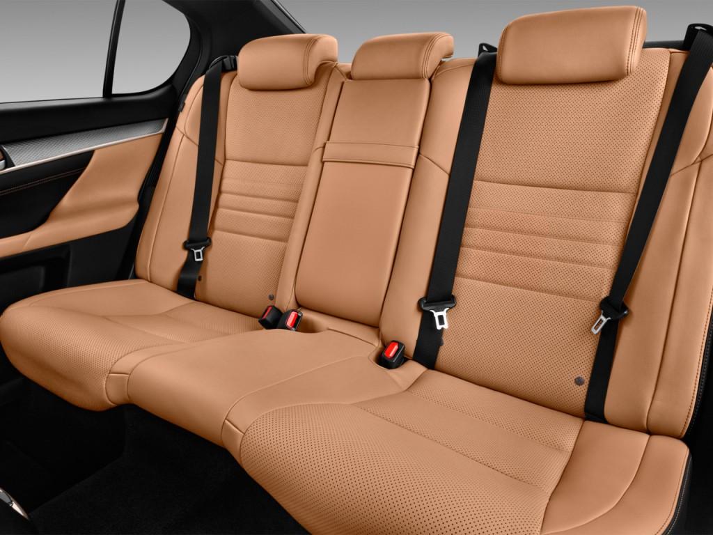 Image: 2017 Lexus GS GS 450h F Sport RWD Rear Seats, size ...