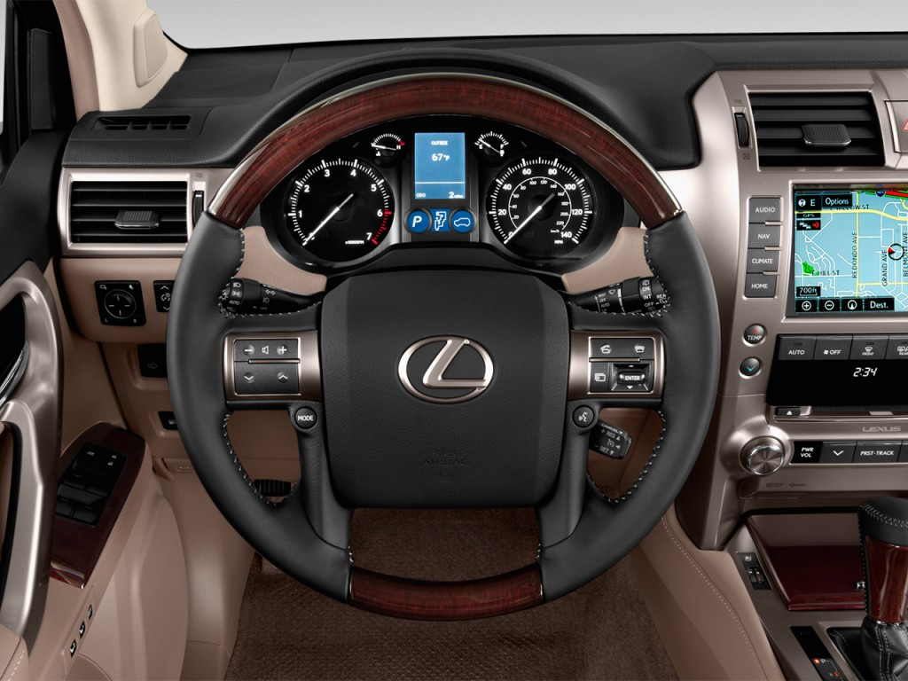Image: 2017 Lexus GX GX 460 4WD Steering Wheel, size: 1024 ...