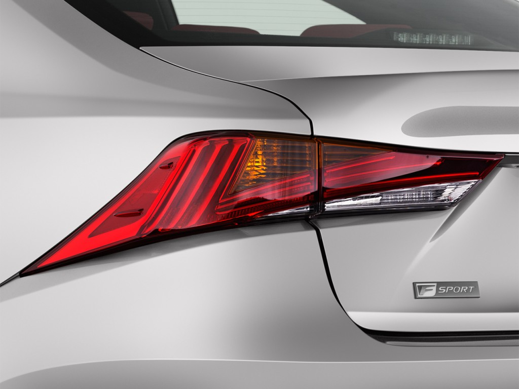 Lexus Is Is F Sport Rwd Tail Light L