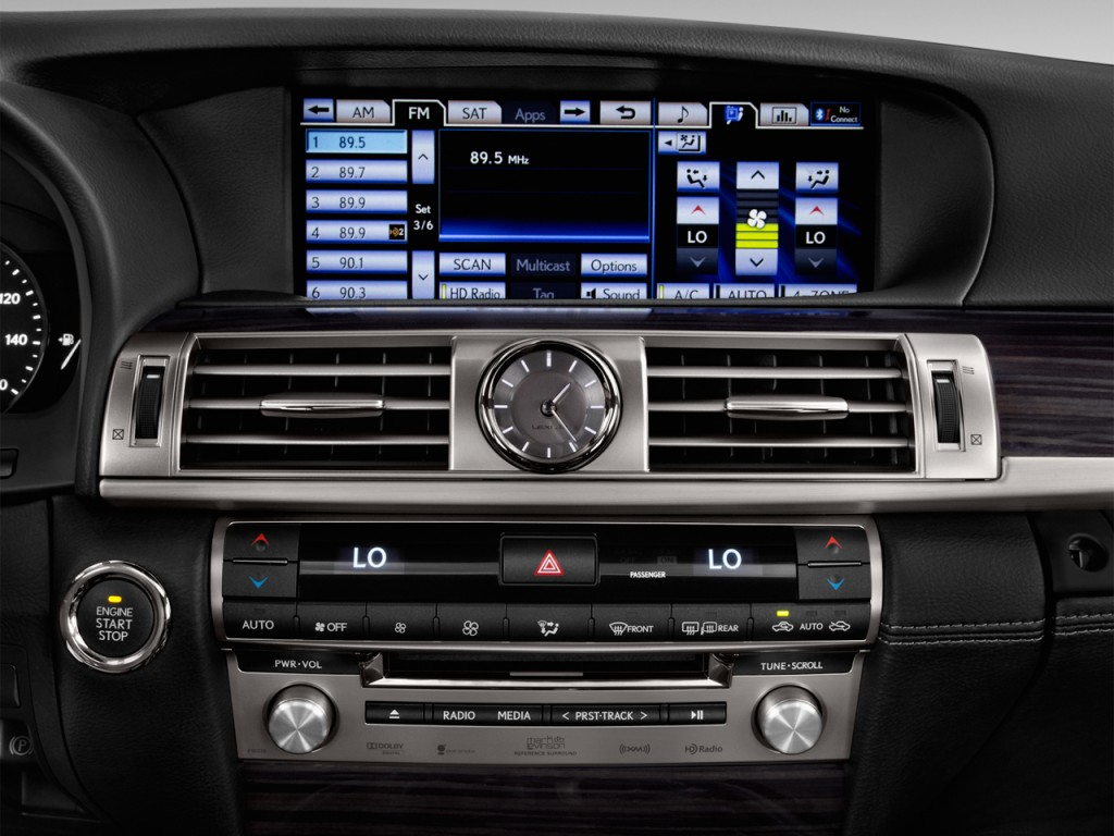 Image: 2017 Lexus LS LS 460 L RWD Audio System, size: 1024 ...