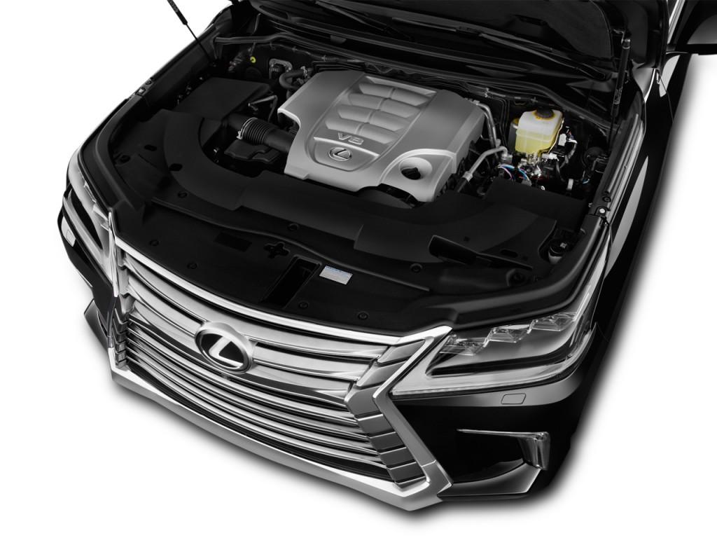 Image: 2017 Lexus LX LX 570 4WD Engine, size: 1024 x 768 ...
