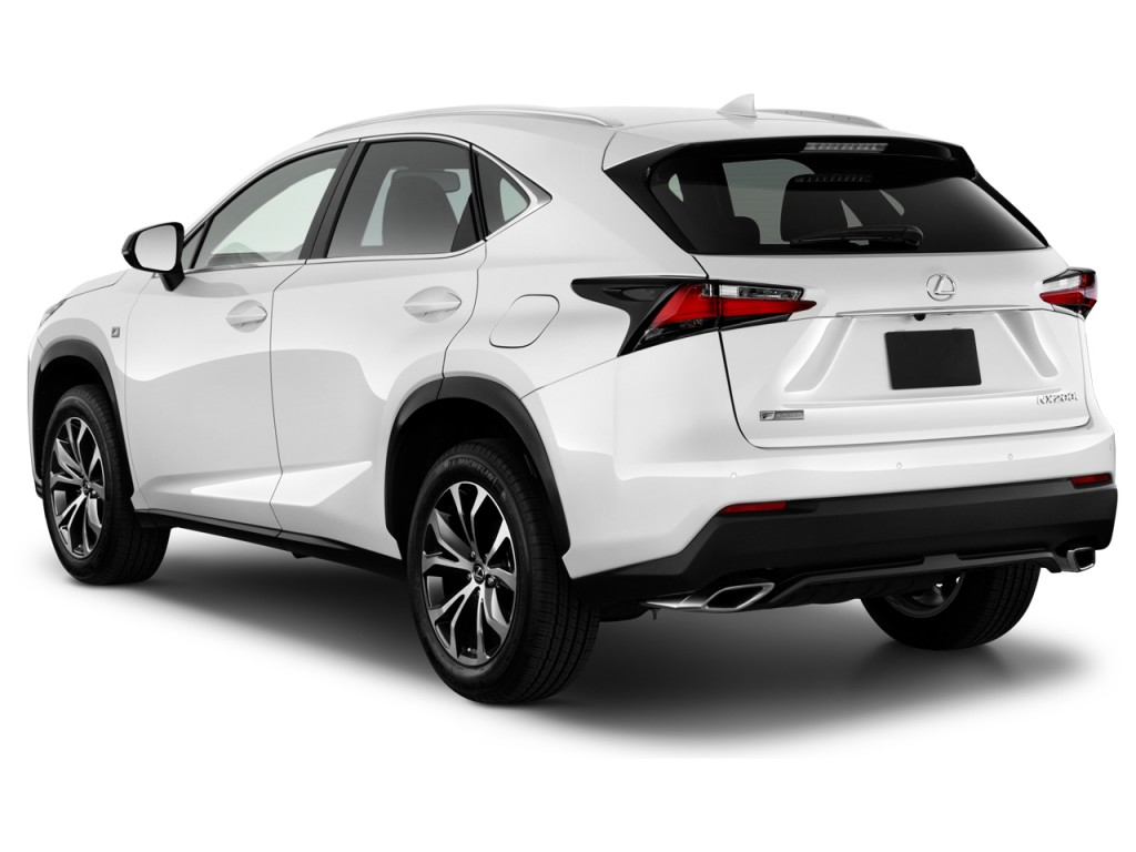 image 2017 lexus nx nx turbo f sport fwd angular rear exterior view size 1024 x 768 type. Black Bedroom Furniture Sets. Home Design Ideas