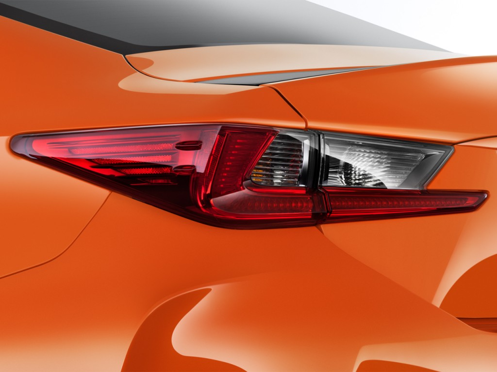 Image: 2017 Lexus RC F RWD Tail Light, size: 1024 x 768 ...