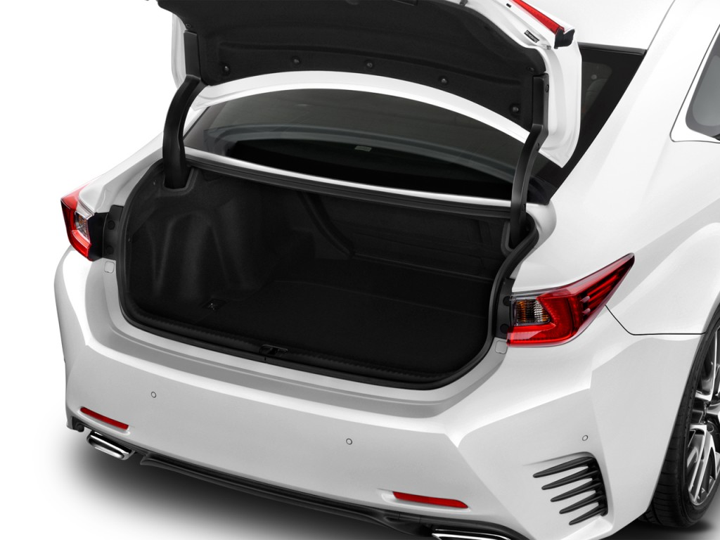 Lexus Nx 200T F Sport >> Image: 2017 Lexus RC RC 350 F Sport RWD Trunk, size: 1024 x 768, type: gif, posted on: April 20 ...
