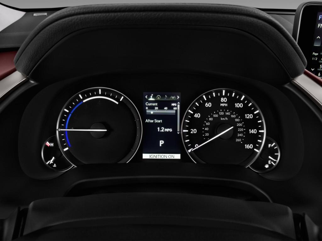 Image: 2017 Lexus RX RX 450h AWD Instrument Cluster, size ...