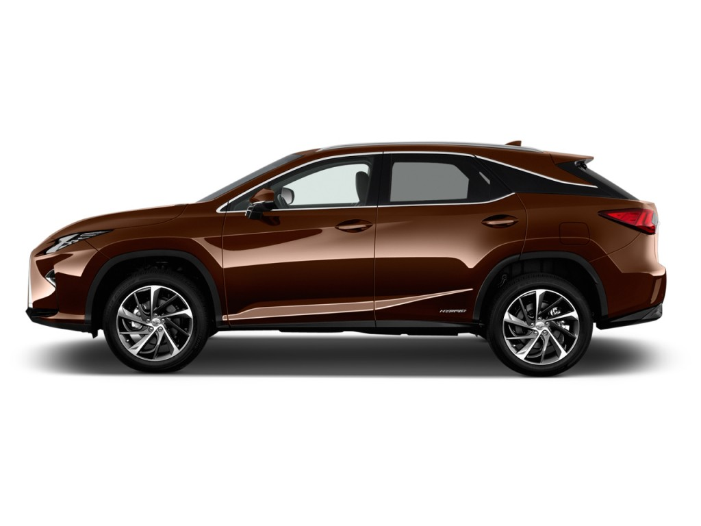 image 2017 lexus rx rx 450h awd side exterior view size 1024 x 768 type gif posted on. Black Bedroom Furniture Sets. Home Design Ideas