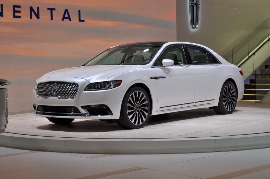 Image: 2017 Lincoln Continental, 2016 Detroit Auto Show, size ...