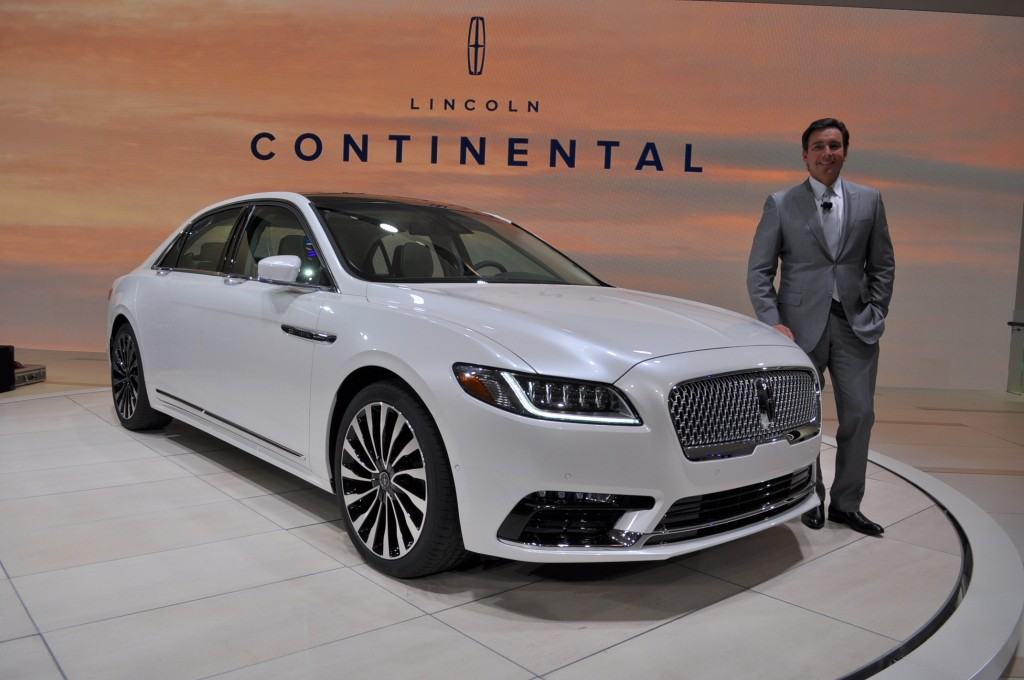 Image: 2017 Lincoln Continental, 2016 Detroit Auto Show ...
