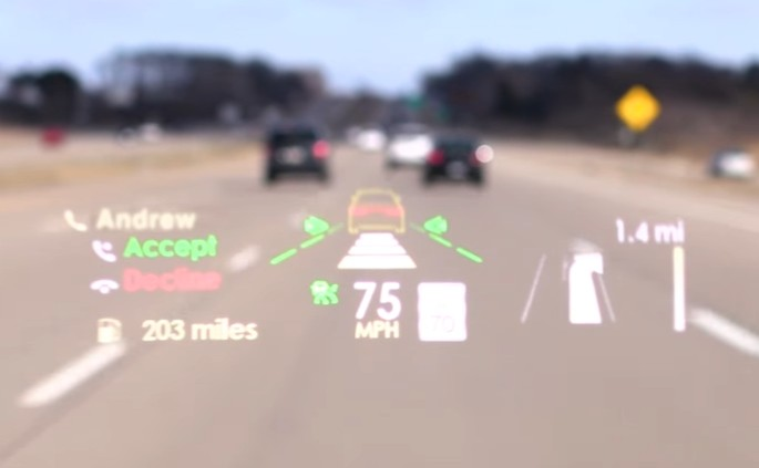 Lincoln Debuts Advanced Head Up Display For 2017 Continental