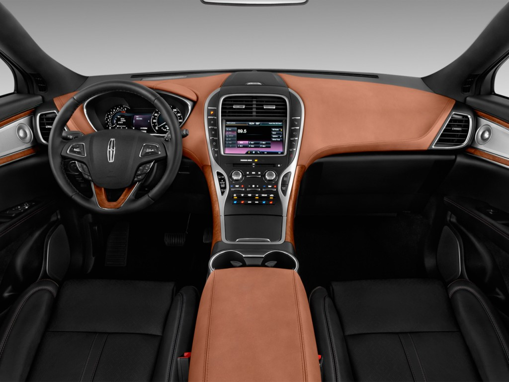 Image: 2017 Lincoln MKX Black Label FWD Dashboard, size ...