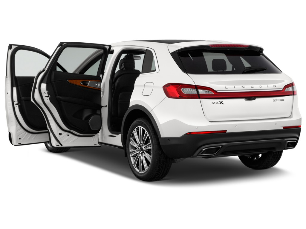 Image: 2017 Lincoln MKX Black Label FWD Open Doors, size ...