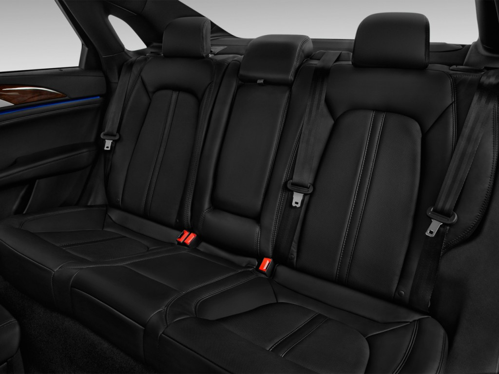 Image: 2017 Lincoln MKZ Reserve FWD Rear Seats, size: 1024 ...