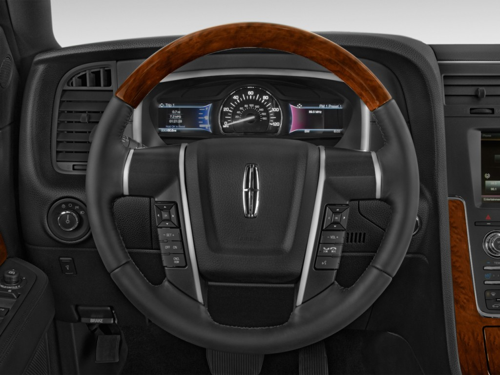 2017 Lincoln Mkc Select >> Image: 2017 Lincoln Navigator 4x2 Select Steering Wheel, size: 1024 x 768, type: gif, posted on ...