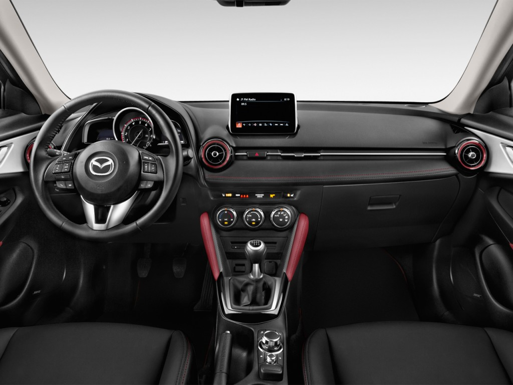 image 2017 mazda cx 3 grand touring fwd dashboard size. Black Bedroom Furniture Sets. Home Design Ideas