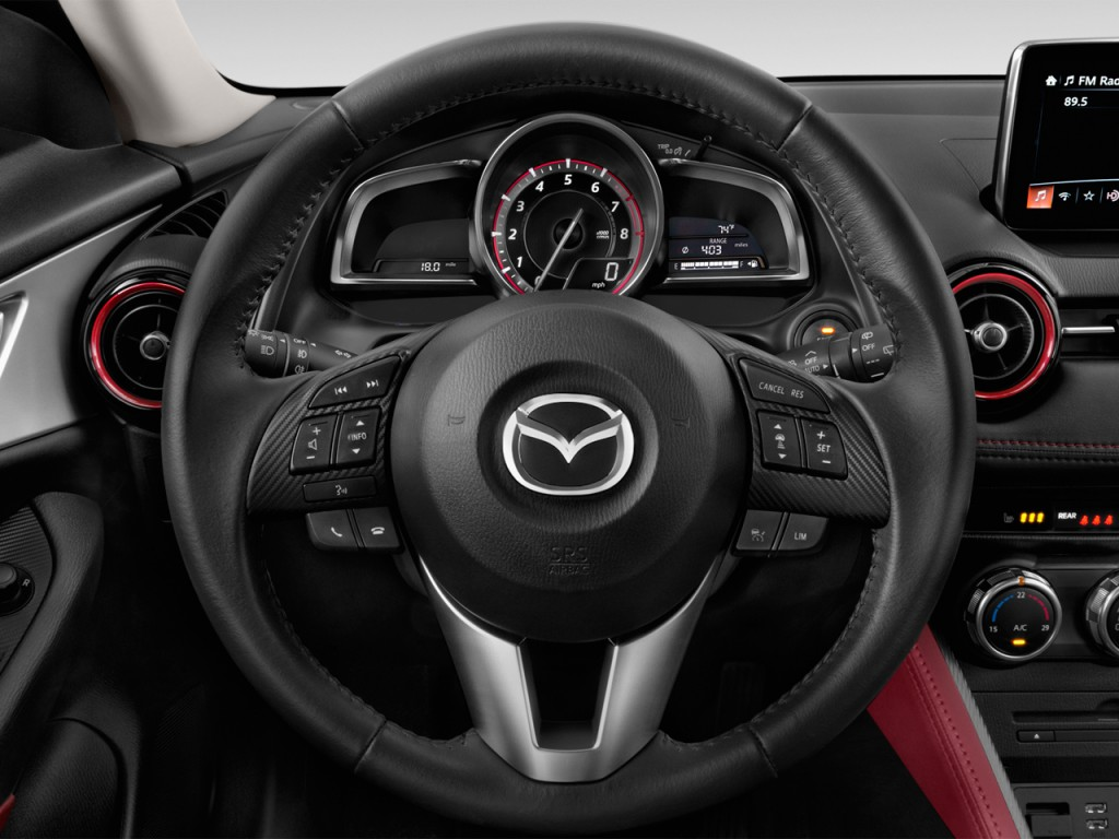 image 2017 mazda cx 3 grand touring fwd steering wheel size 1024 x 768 type gif posted on. Black Bedroom Furniture Sets. Home Design Ideas