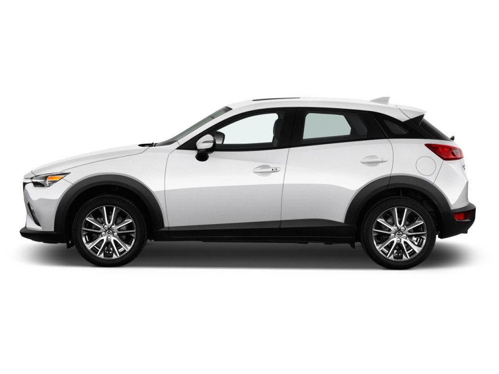 Image: 2017 Mazda CX-3 Touring AWD Side Exterior View ...