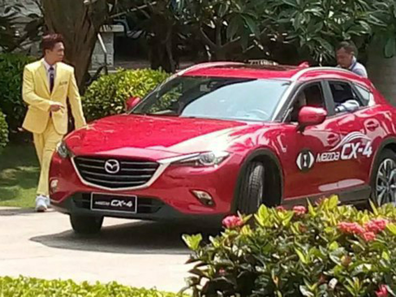 Mazda 39 S New Cx 4 Crossover Leaked