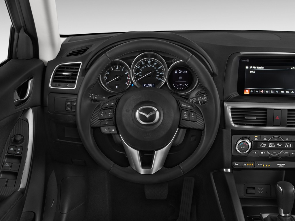 Image: 2017 Mazda CX-5 Grand Touring FWD Steering Wheel ...