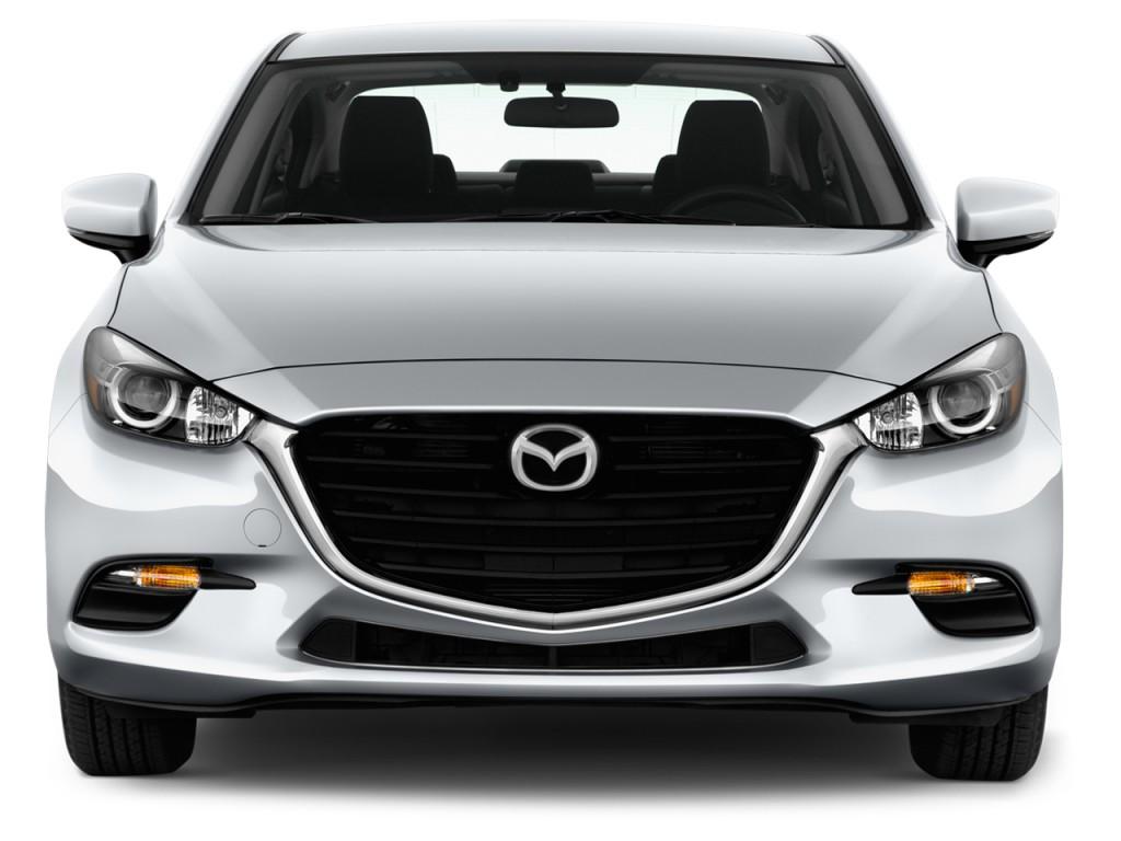 Image: 2017 Mazda Mazda3 4-Door Sport Auto Front Exterior ...