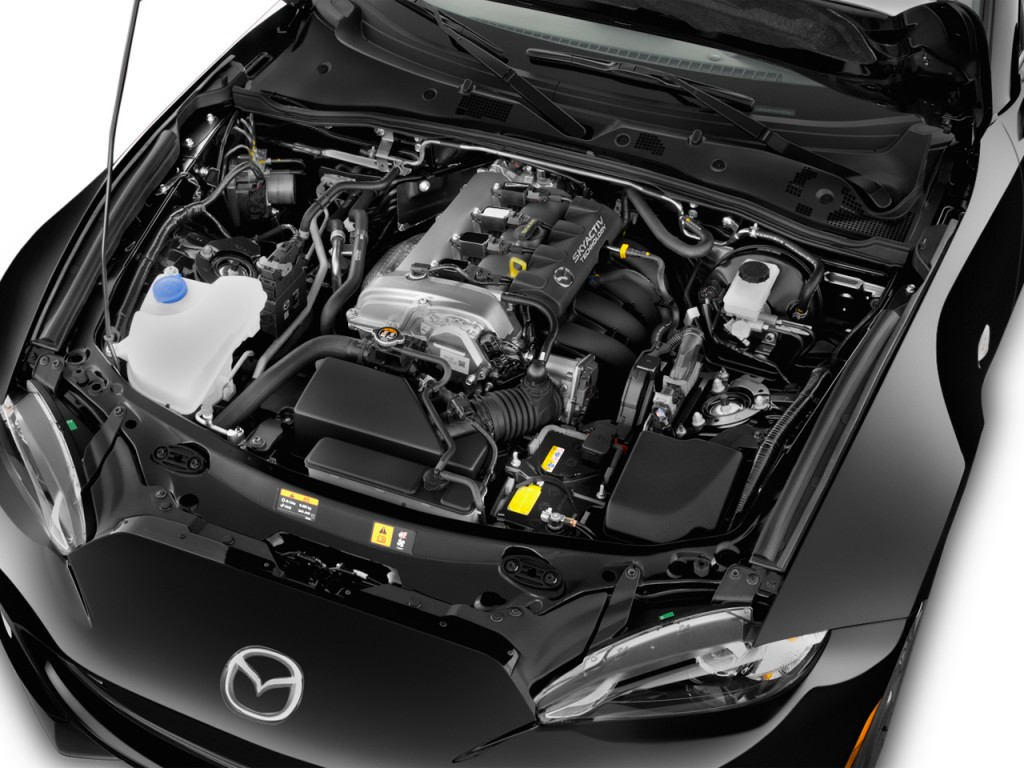 Image: 2017 Mazda MX-5 Miata Grand Touring Manual Engine ...