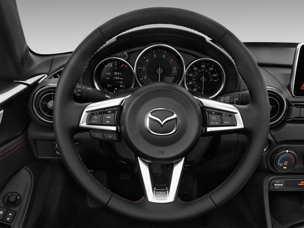 image 2017 mazda mx 5 miata rf club auto steering wheel size 1024 x 768 type gif posted on. Black Bedroom Furniture Sets. Home Design Ideas