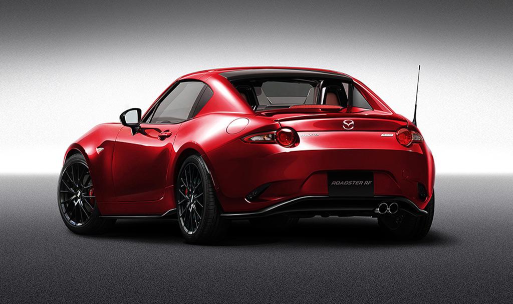 2017 Mazda Mx 5 Miata Rf Custom Style Concept Tokyo Auto Salon