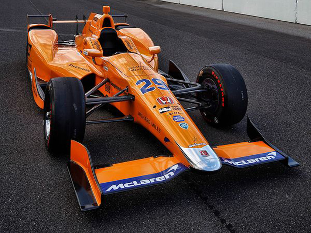 First Look At Mclaren S New Race Car For The 2017 Indy 500
