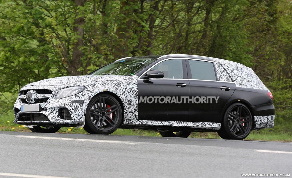 Image: 2017 Mercedes-AMG E63 Wagon (Estate) spy shots - Image via S. Baldauf/SB-Medien, size ...