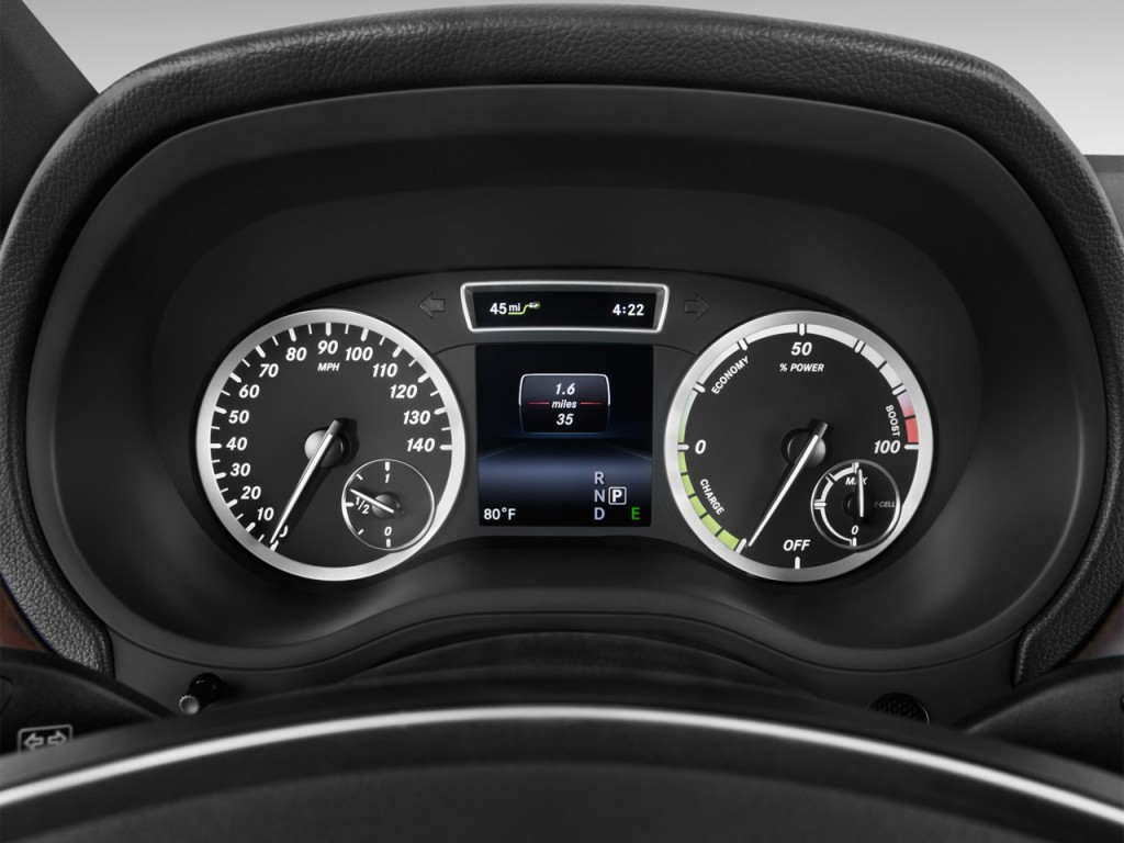 image 2017 mercedes benz b class b250e hatchback instrument cluster size 1024 x 768 type. Black Bedroom Furniture Sets. Home Design Ideas
