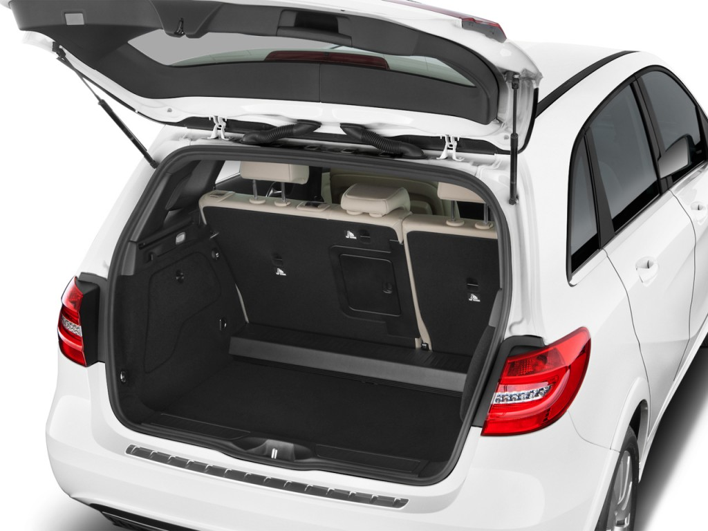image 2017 mercedes benz b class b250e hatchback trunk. Black Bedroom Furniture Sets. Home Design Ideas