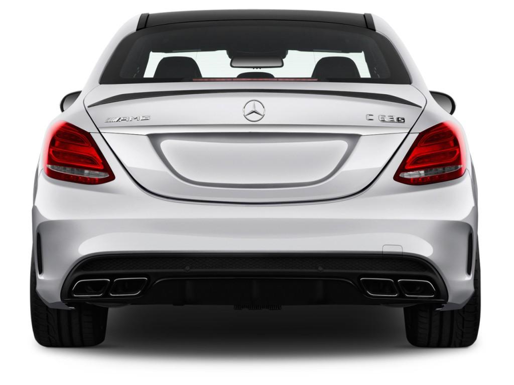 Image 2017 mercedes benz c class amg c63 s sedan rear for Mercedes benz net worth 2017