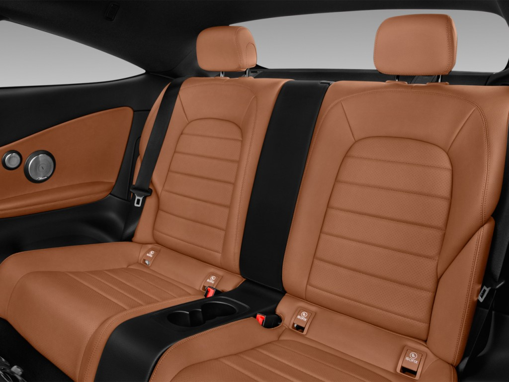 Image 2017 mercedes benz c class c300 coupe rear seats for Mercedes benz car seat covers sale