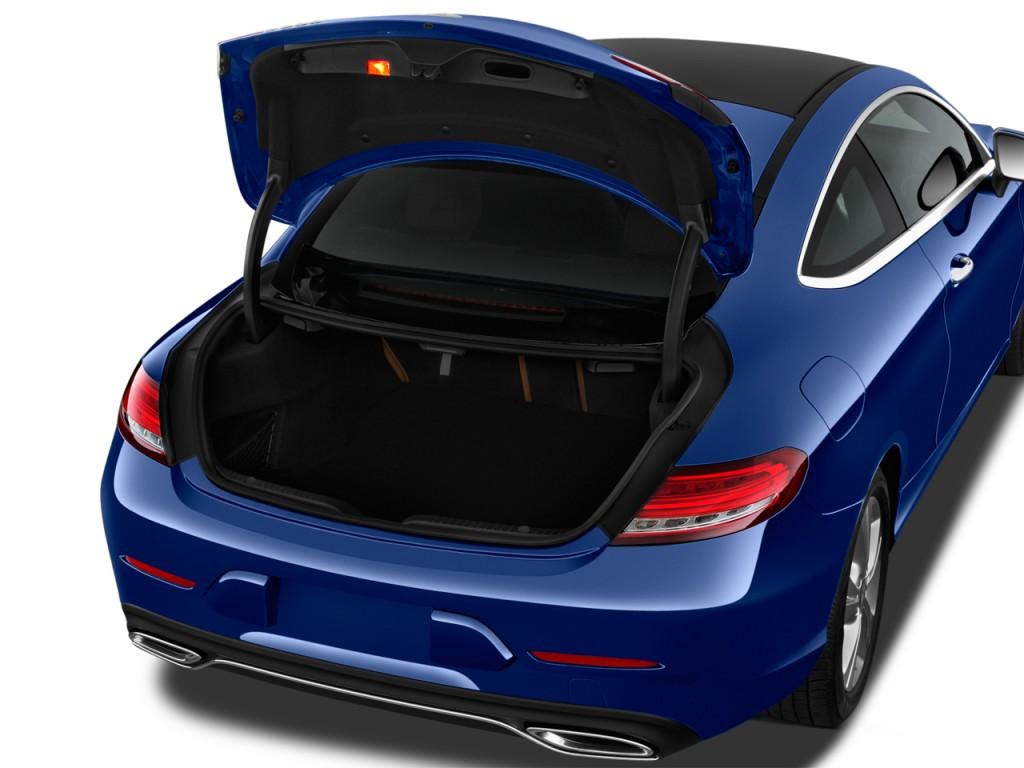2017 Mercedes-Benz C Class C300 Coupe Trunk