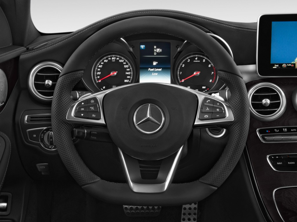 Image 2017 mercedes benz c class c300 sedan with sport for Mercedes benz c300 tire size