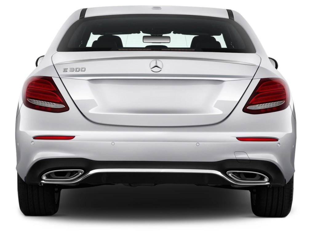 Image 2017 Mercedes Benz E Class E300 Sport Rwd Sedan Rear Exterior View Size 1024 X 768