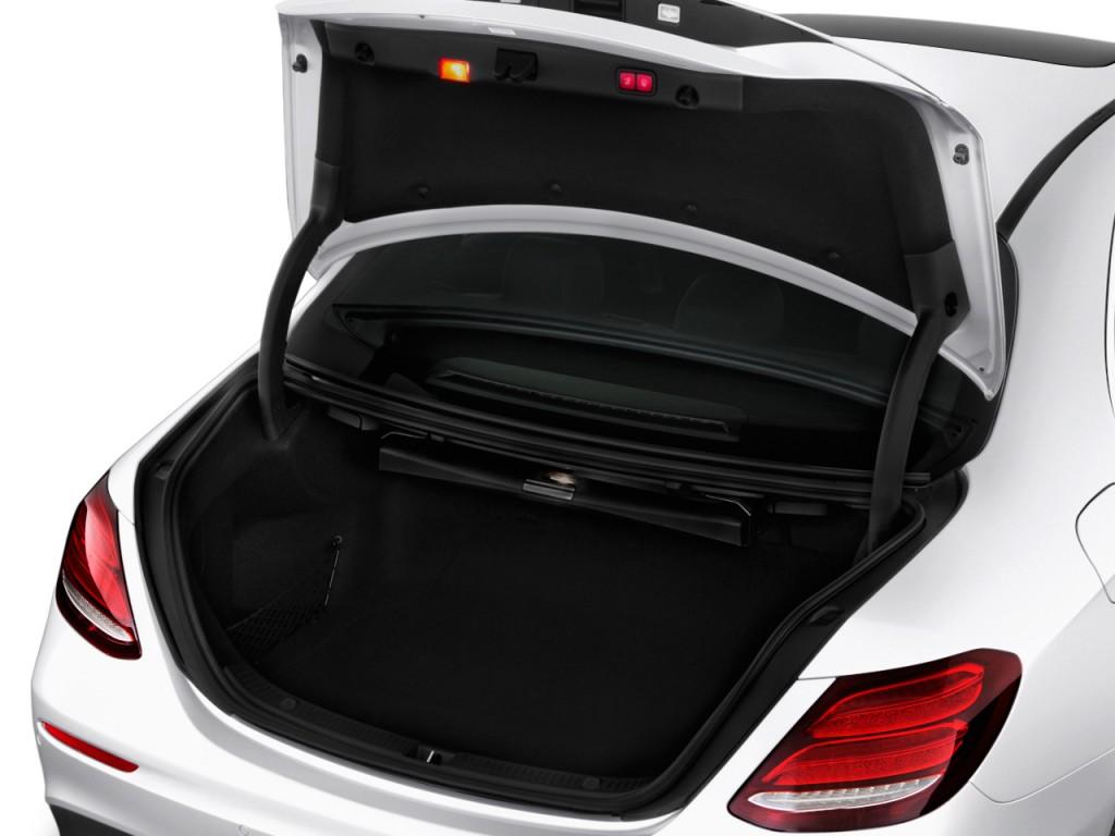 Image 2017 mercedes benz e class e300 sport rwd sedan for How to open the trunk of a mercedes benz e320