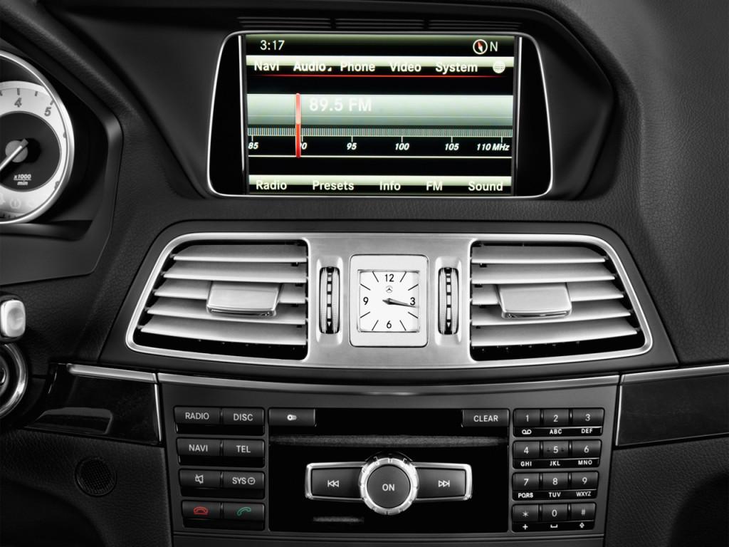 Image: 2017 Mercedes-Benz E Class E400 RWD Coupe Audio ...